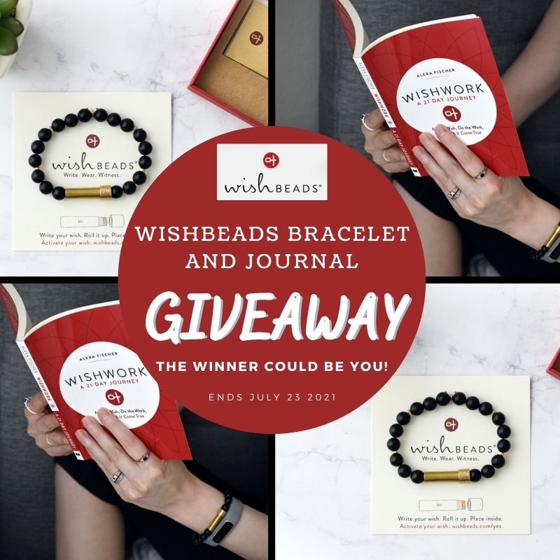 Enter the @Wishbeads Bracelet and Journal #Giveaway Ends 7/23 @homejobsbymom