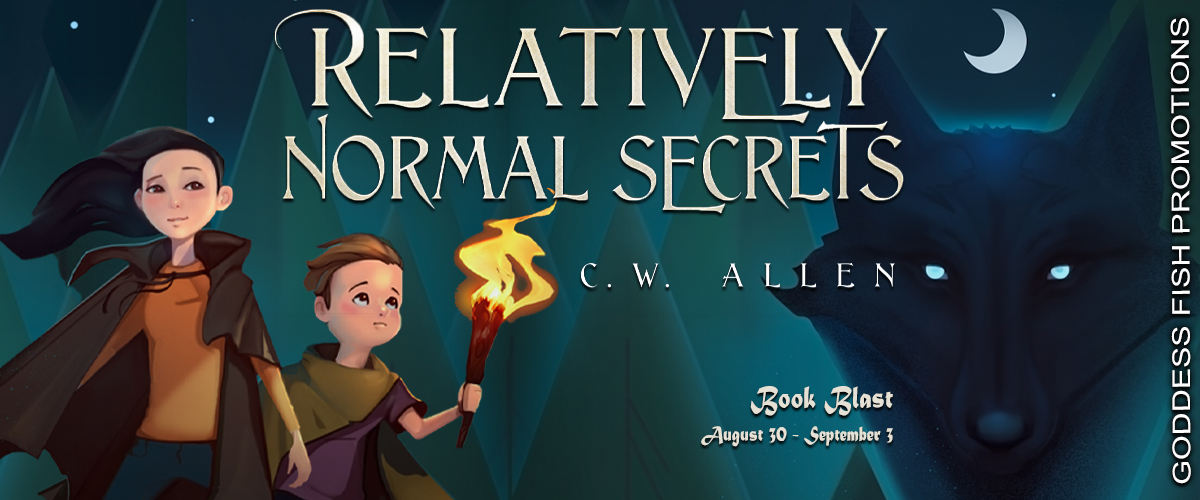 #BookBlast Relatively Normal Secrets by C.W. Allen
