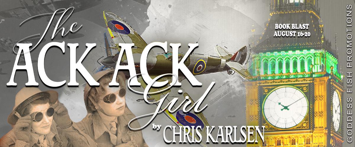 #BookBlast The Ack Ack Girl by Chris Karlsen