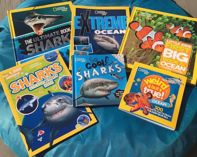 National Geographic Kids Shark-tastic Prize Pack #Giveaway Ends 9/1 @MarksvilleandMe