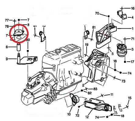 Peugeot 106 GTI Vibra Technics Transmission Mount