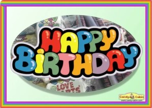 Happy Birthday Swizzels Hamper Candy Cabin Traditional Sweet Shop