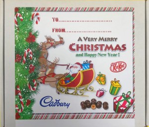Christmas Hamper Label The Candy Cabin Ltd Traditional Online Sweet Shop