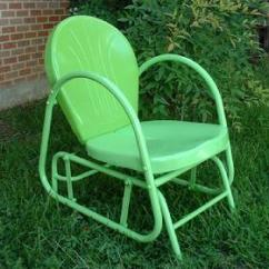Folding Lawn Chairs Ontario Style Names Retro Patio Canada Outdoor Furniture Glider 179