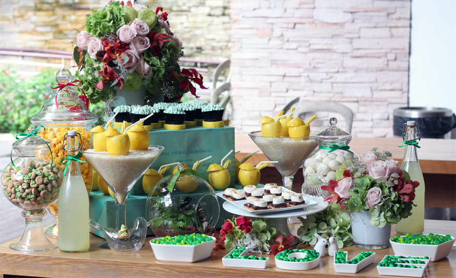 JOandJARS_CandyBuffet_HerWorld_HerWorldBrides_FoodForThought_BotanicGardens_Yellow_Green_FioreDorato