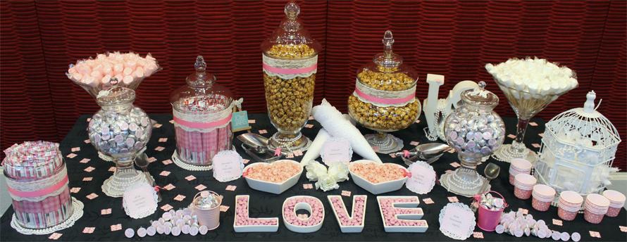 JOandJARS_CandyBuffet_Wedding_GrandParkCityHall_GrandBallroom_Pink_White_Lace