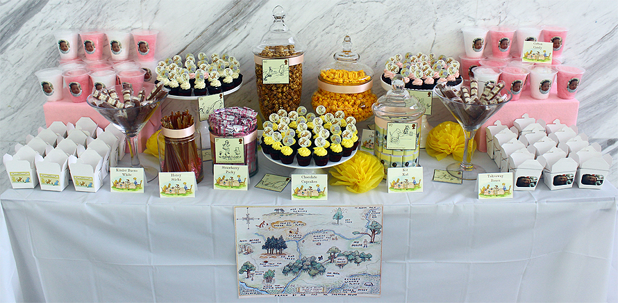 JOandJARS_CandyBuffet_BabyShower_FullMonth_ClassicPooh_Yellow_Pink_Brown_OneChatsworth
