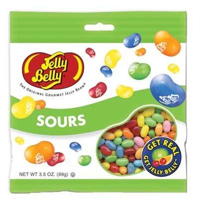 Sours Peg Bag Sour Flavored Jelly Beans Wholesale Candy