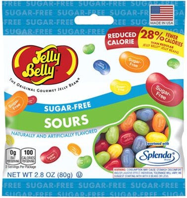 Sugar Free Sours Beananza Peg Bags Jelly Belly Jelly Beans