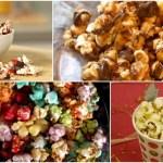 Novedodas formas de comer palomitas de maíz
