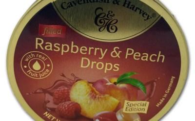 Peach & Raspberry Drops From Heaven