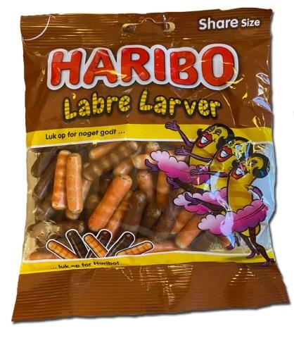 Haribo Labre Larver package