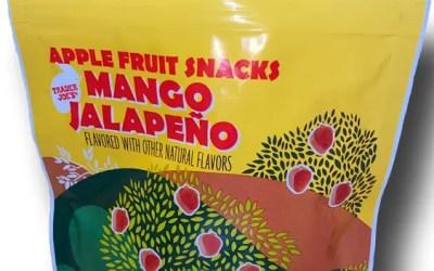 Trader Joe's Mango Jalapeño Apple Fruit Snacks