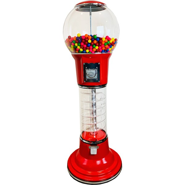 5' Spiral Gumball Machine - Special Offer Vending