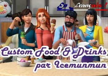 ▷ Cuisine et Boissons pour les Sims 4 par Icemunmun