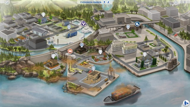 evergreen harbor sims 4