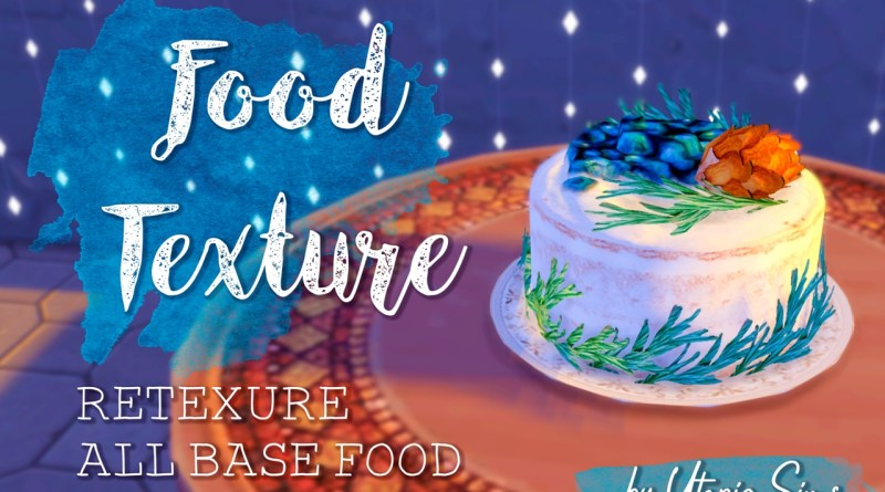 food texture sims 4