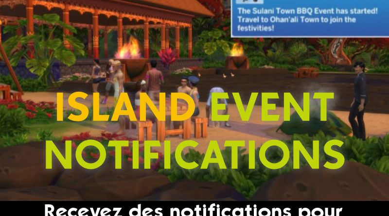 mod sims 4 notification sulani
