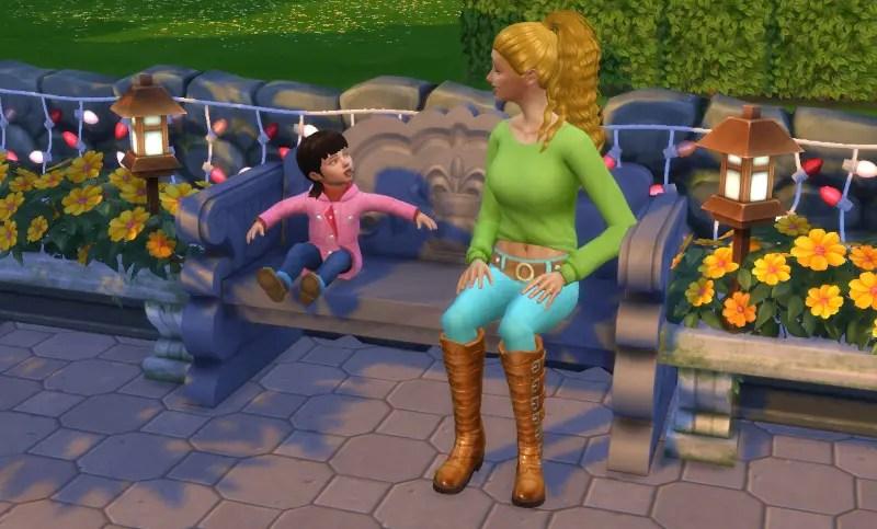 mod conversations bambins sims 4