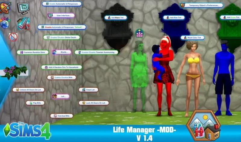 ▷ Mise à Jour Life Manager 1.4 par Sacrificial Junior