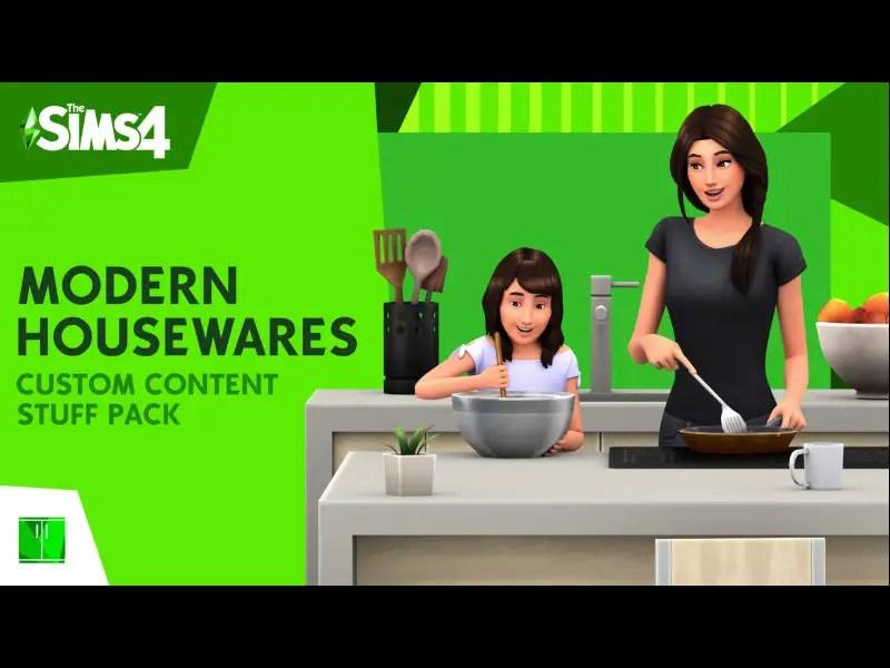 ▷ Pack d'Équipements Modernes pour la Maison par IllogicalSims