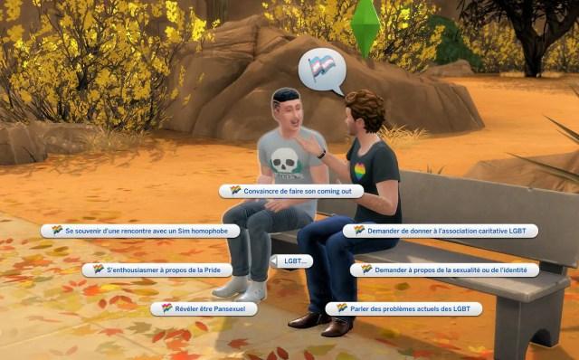 interaction mod LGBT sims 4