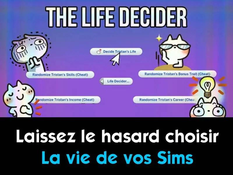 mod Life decider sims 4