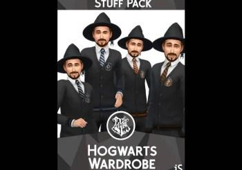 ▷ Pack de Vêtements Maxis Match Poudlard Harry Potter par iSandor