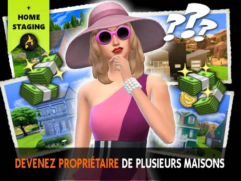 ▷ Gestionnaire de Maisons pour Les Sims 4