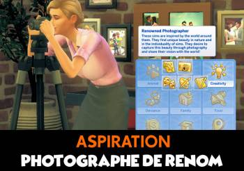 ▷ Aspiration Photographe Sims 4