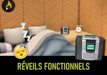 ▷ Réveils Fonctionnels pour Les Sims 4