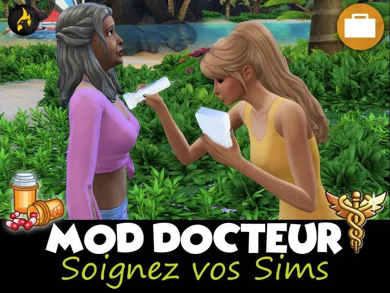 ▷ Mod Docteur – Prodiguer des Soins par Zulf