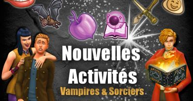 Nouvelles activités pour vos Sims surnaturels