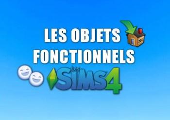 ▷ Les Objets Fonctionnels pour Les Sims 4