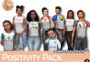 sims 4 fan pack positivité