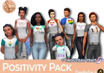 ▷ Fan Pack Positivité: vêtements + nouveau trait!