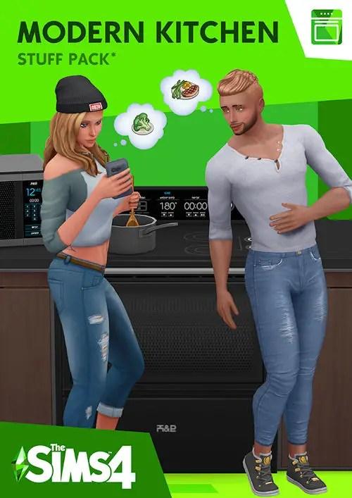 modern kitchen stuff pack sims 4