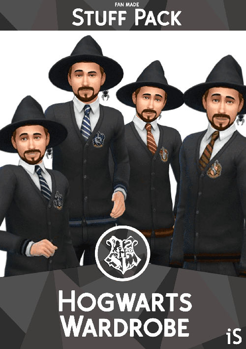 pack cc harry potter sims 4