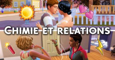 Chimie et relations : des rapports plus compliqués entre vos Sims !