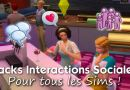 pack interactions sociales sims 4