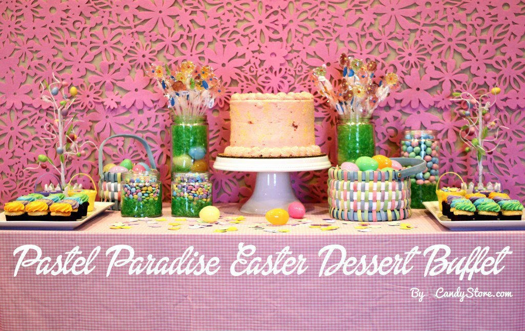 Easter Cake Jelly Beans Inside