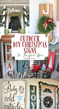 15+ DIY Christmas & Holiday Decorations