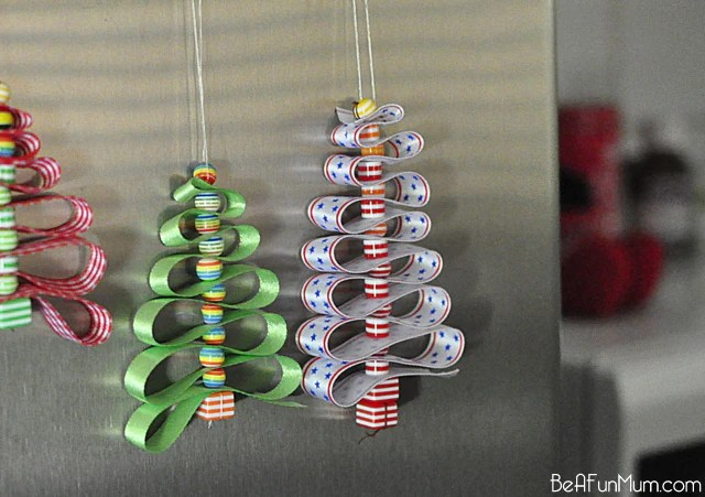 Ribbon Decorations For Christmas