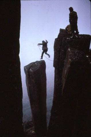 Climbing Mt Wellington