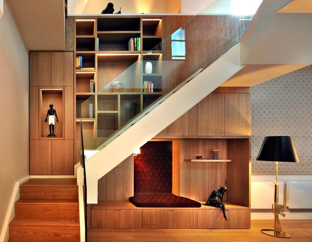 Ideas para aprovechar el espacio del bajo escalera  Canexel