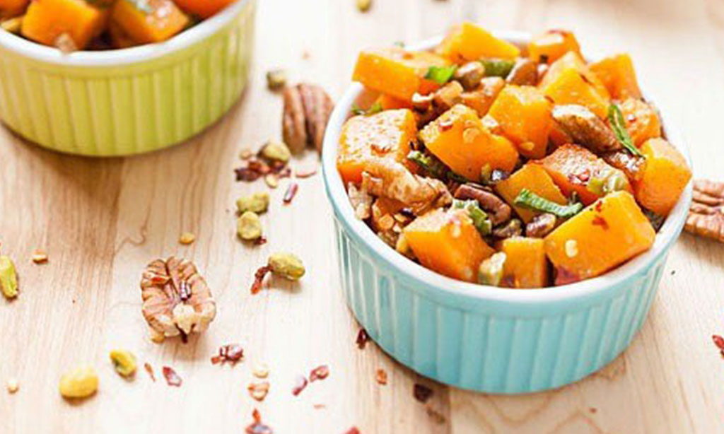 Nutty Butter Squash Bake