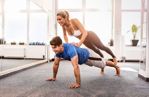 The Couple's Workout Routine
