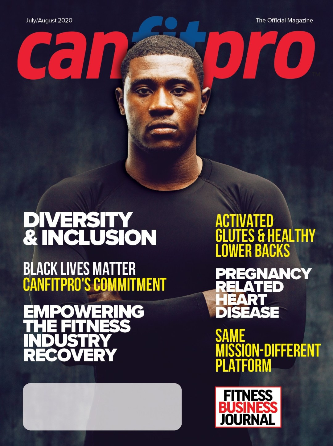 canfitpro Magazine | Jul/Aug 2020 cover