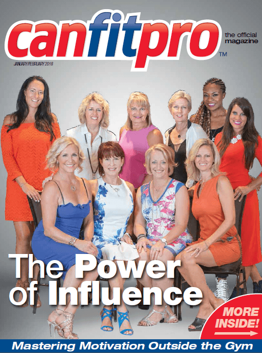 canfitpro Magazine | Jan/Feb 2018 cover