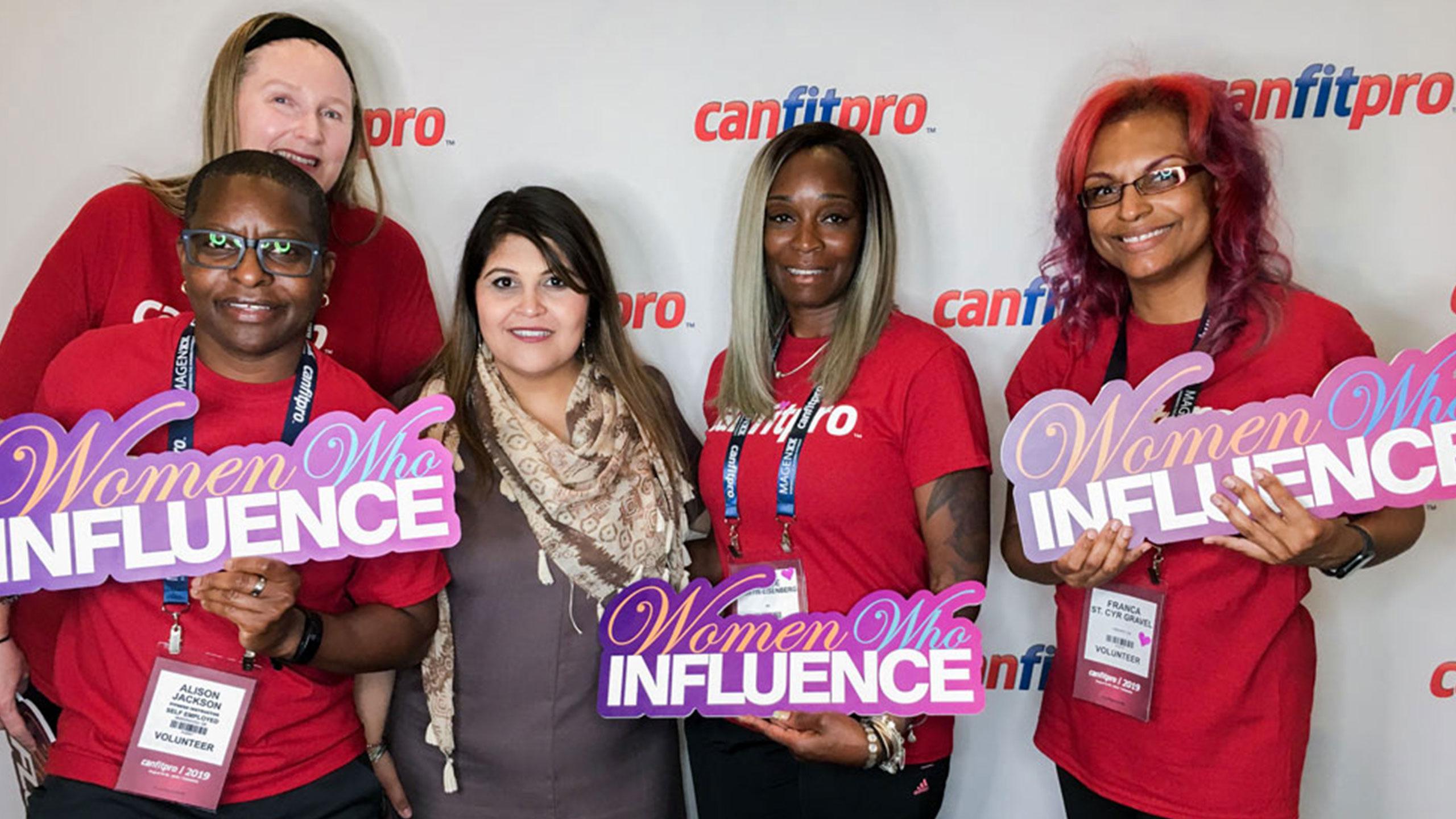 canfitpro volunteers